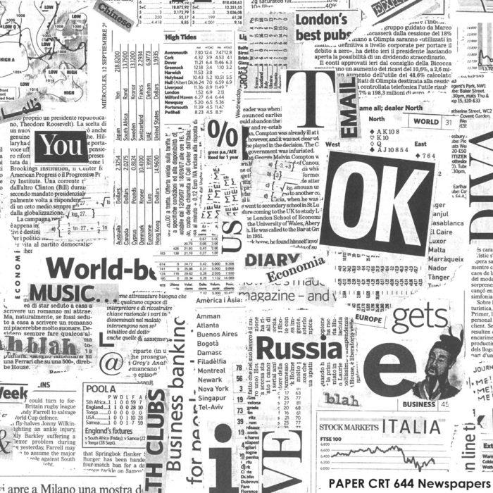 CRT 644 Newspapers