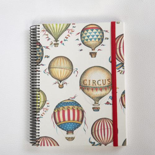 Llibreta personalitzada globus