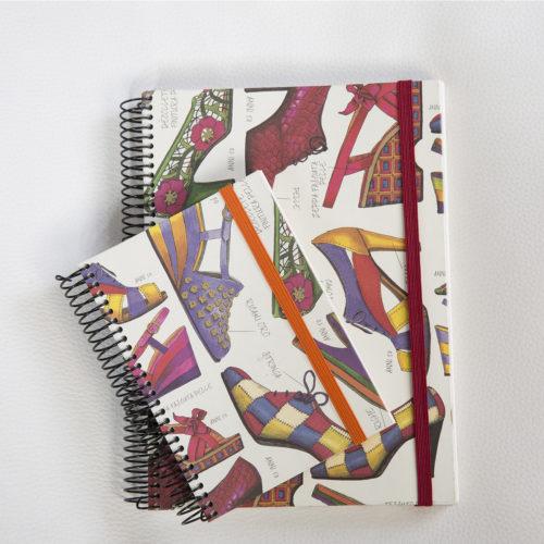 Llibreta personalitzada sabates
