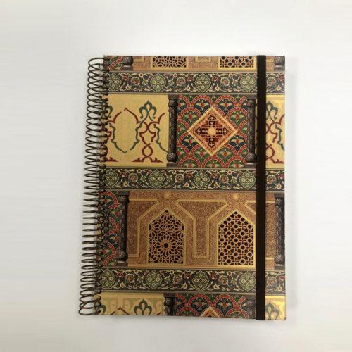 llibreta personalitzada arabesc 2