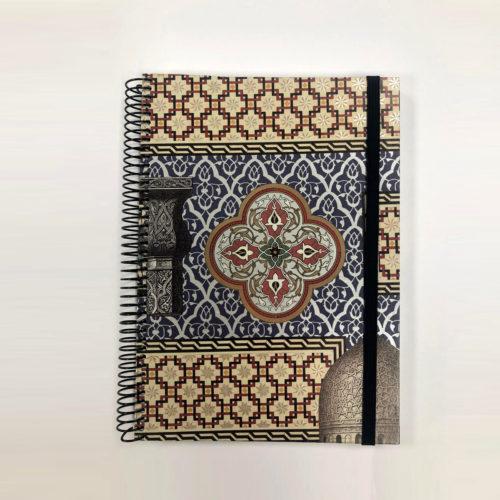 llibreta personalitzada arabesc